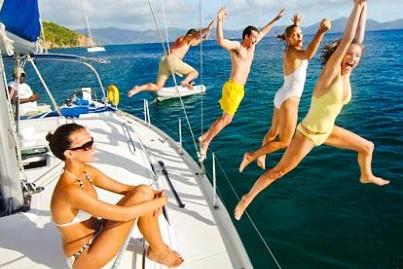 sailing enjoyment